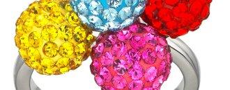 Swarovksi, Pink Jewelery
