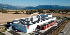Nouveau site Alpes Frais Production, au coeur des Alpes